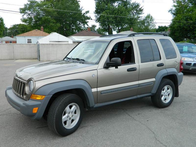 2005 jeep liberty sport 4wd 4dr suv in lincoln park. Black Bedroom Furniture Sets. Home Design Ideas