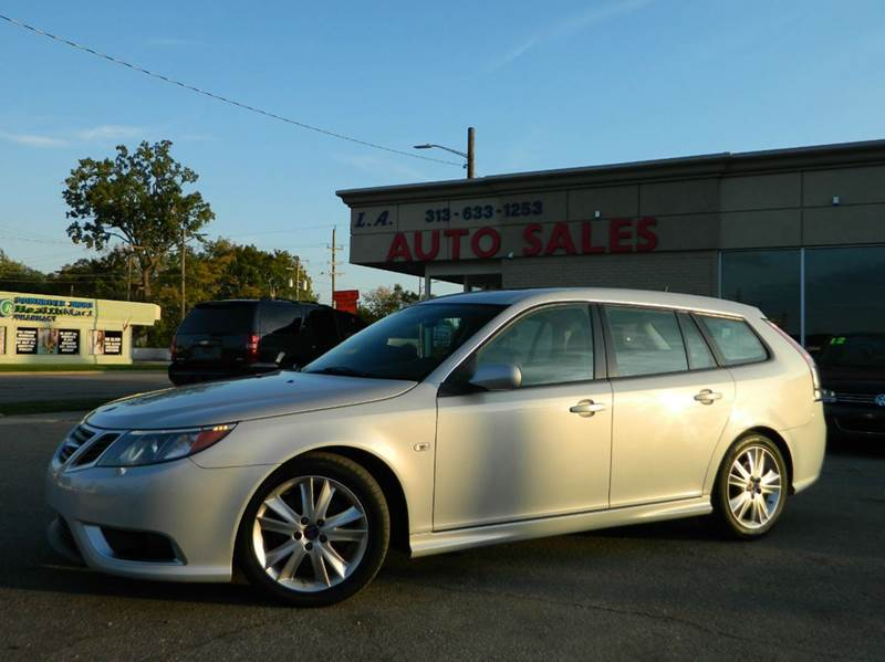 2008 saab 9 3 aero sportcombi 4dr wagon in lincoln park mi. Black Bedroom Furniture Sets. Home Design Ideas