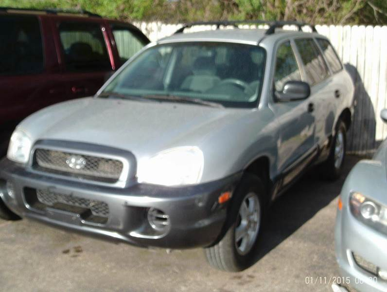 2001 Hyundai Santa Fe Gl 2wd 4dr Suv In Wichita Ks Star