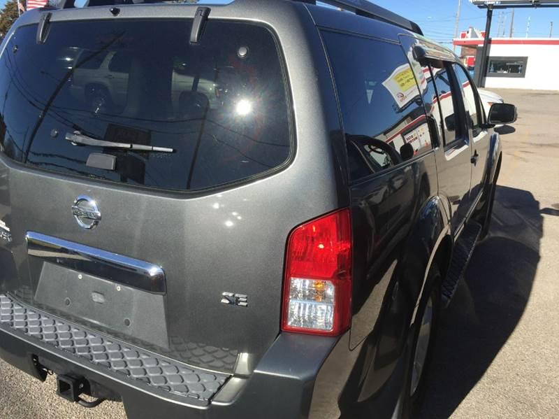 2005 Nissan Pathfinder Se Off Road 4dr Suv In Wichita Ks Star Motors Llc