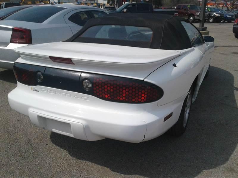 1999 Pontiac Firebird 2dr Convertible In Wichita Ks Star