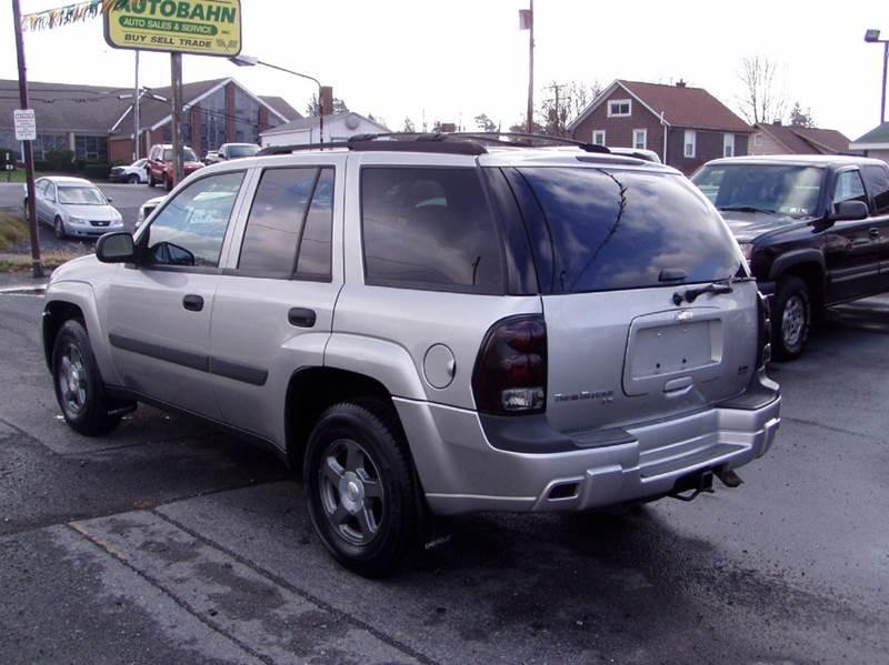 2005 Chevrolet TrailBlazer LS 4WD 4dr SUV - Johnstown PA