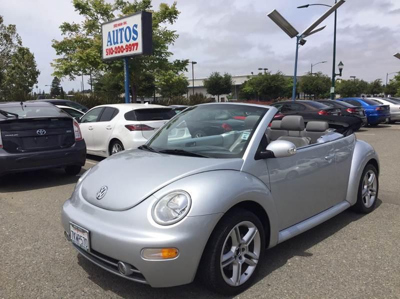 2005 Volkswagen New Beetle 2dr GLS 1.8T Turbo Convertible - Hayward CA