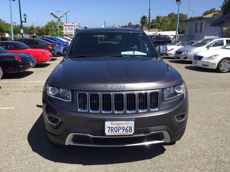 2016 Jeep Grand Cherokee Limited 4x4 4dr SUV - Hayward CA