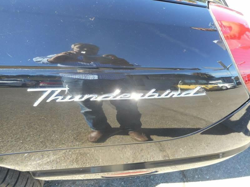 2002 Ford Thunderbird Deluxe 2dr Convertible - Hayward CA