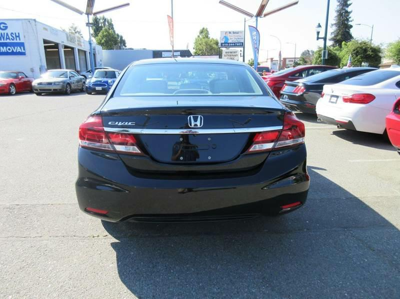 2014 Honda Civic EX 4dr Sedan - Hayward CA