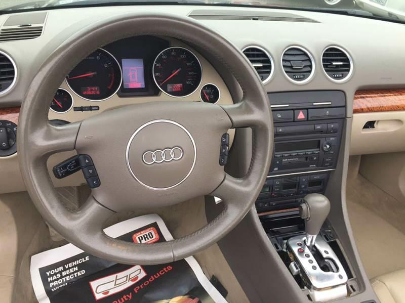 2003 Audi A4 3.0 2dr Convertible - Hayward CA