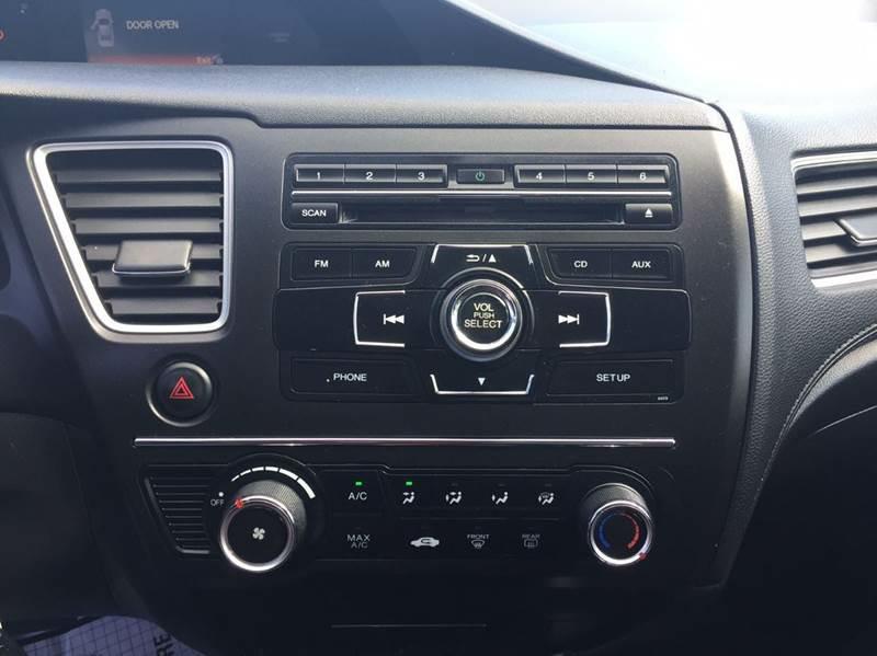 2014 Honda Civic HF 4dr Sedan - Hayward CA