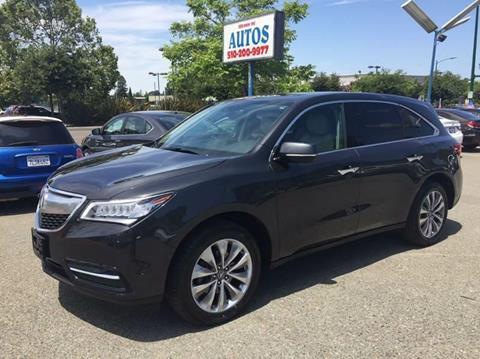 2015 Acura MDX for sale in Hayward, CA