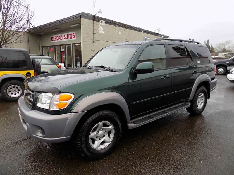 2001 toyota sequoia sr5 4wd 4dr suv in hillsboro or oxford autos llc. Black Bedroom Furniture Sets. Home Design Ideas