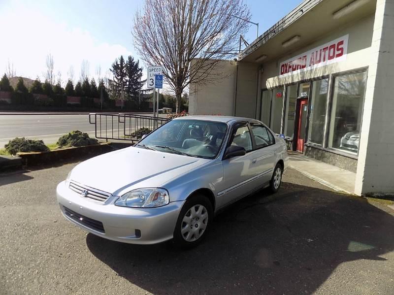 2000 honda civic vp 4dr sedan in hillsboro or oxford for Honda civic vp