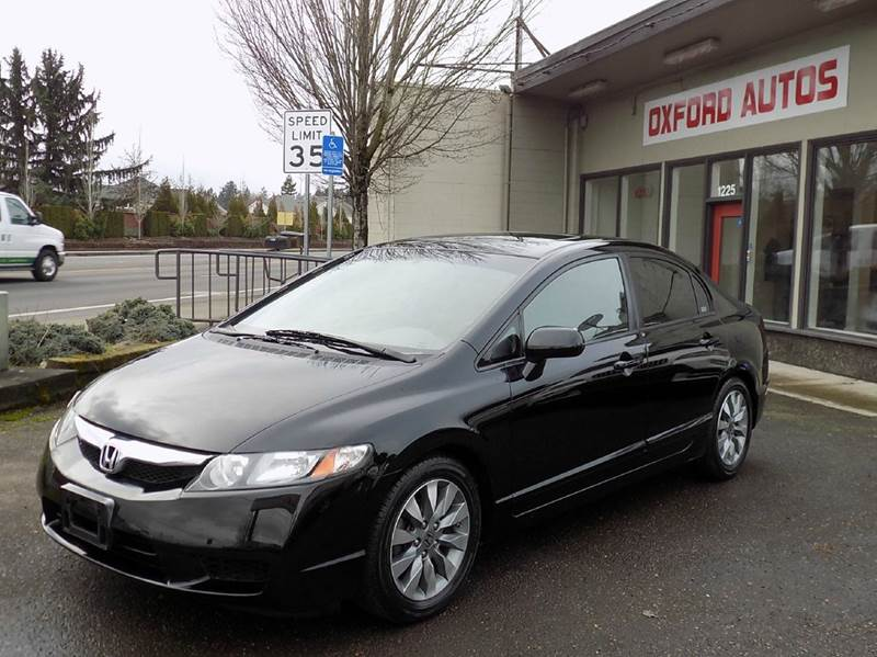 2009 honda civic ex l 4dr sedan 5a in hillsboro or oxford autos llc. Black Bedroom Furniture Sets. Home Design Ideas