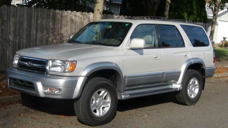 1999 toyota 4runner limited 4dr 4wd suv in hillsboro or. Black Bedroom Furniture Sets. Home Design Ideas