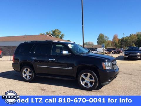 2012 Chevrolet Tahoe for sale in Clio, MI