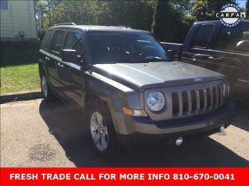 2012 Jeep Patriot for sale in Clio, MI