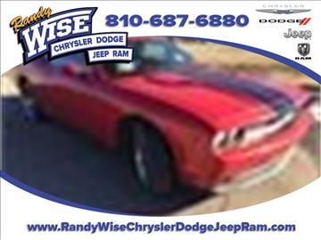 2011 Dodge Challenger for sale in Clio, MI