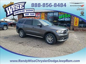 2017 Dodge Durango for sale in Clio, MI