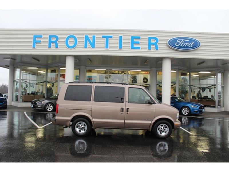2002 Chevrolet Astro For Sale In Anacortes WA