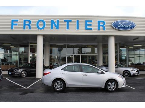 2014 Toyota Corolla for sale in Anacortes, WA
