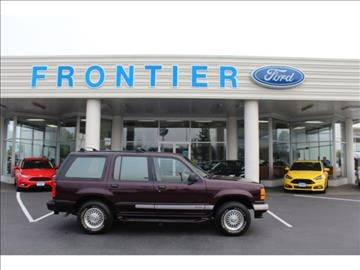 Frontier Ford Anacortes >> 1994 Ford Explorer For Sale - Carsforsale.com