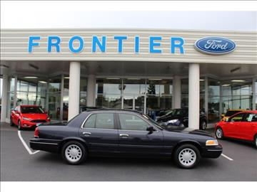 2002 Ford Crown Victoria for sale in Anacortes, WA