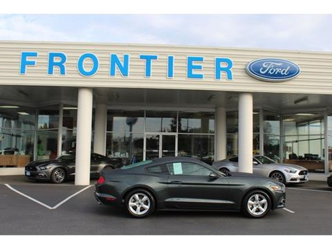 2015 Ford Mustang for sale in Anacortes, WA