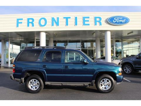 2005 Chevrolet Tahoe for sale in Anacortes, WA
