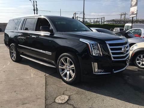 2015 Cadillac Escalade ESV for sale in Bellflower, CA