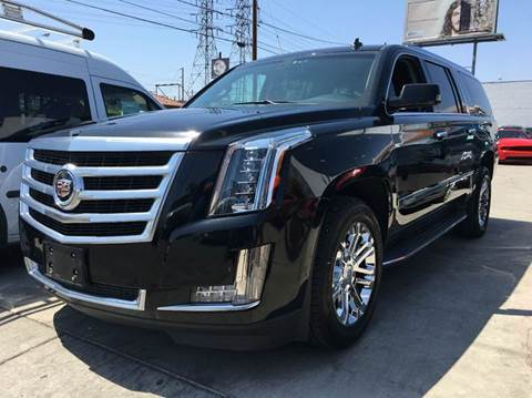 2015 Cadillac Escalade ESV for sale in Bellflower, CA