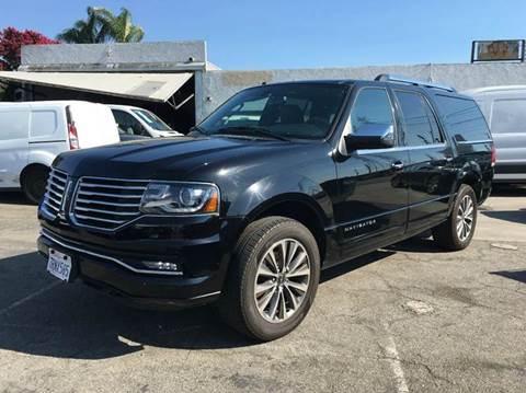 2016 Lincoln Navigator L for sale in Bellflower, CA