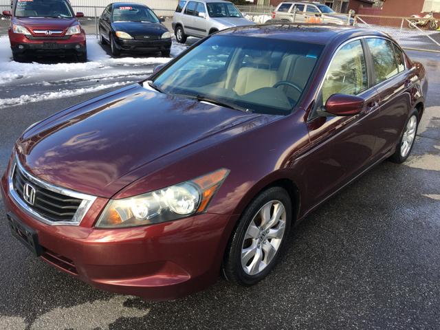 2008 Honda Accord EX 4dr Sedan 5A - Schenectady NY