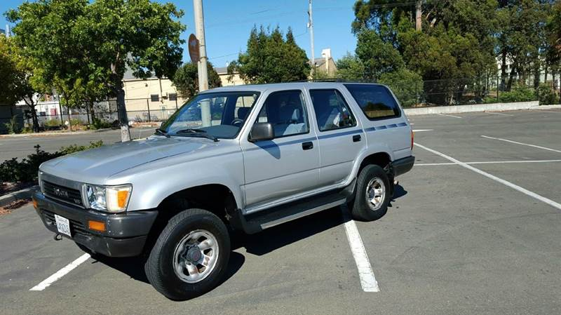 1991 toyota 4runner sr5 v6 4dr 4wd suv in pinole ca clean machines. Black Bedroom Furniture Sets. Home Design Ideas