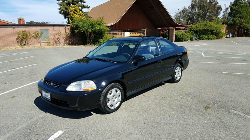 1998 honda civic ex 2dr coupe in pinole ca clean machines. Black Bedroom Furniture Sets. Home Design Ideas