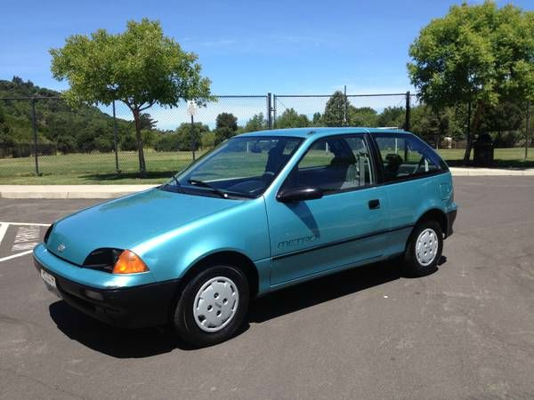 1991 geo metro lsi coupe in pinole ca clean machines. Black Bedroom Furniture Sets. Home Design Ideas