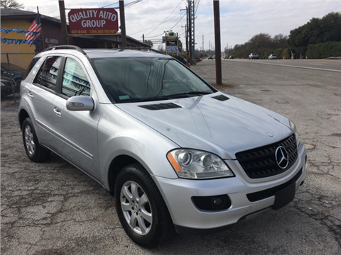 2006 mercedes benz m class for sale in texas. Black Bedroom Furniture Sets. Home Design Ideas