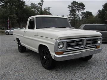 1972 Ford F-100 for sale in Laurel, MS