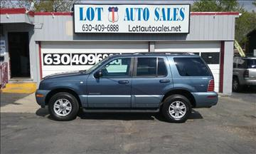 2002 Mercury Mountaineer for sale in Melrose Park, IL