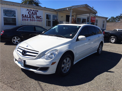Mercedes benz r class for sale washington for Mercedes benz r class for sale