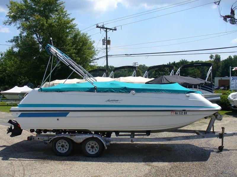 1995 Hurrican Fun Deck 216  - Spotsylvania VA