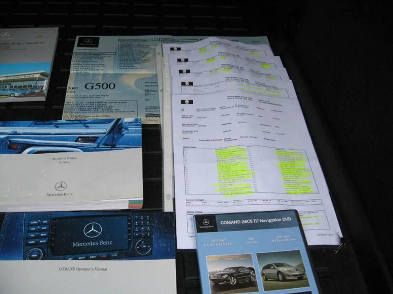 2007 Mercedes-Benz G-Class  - Atlanta GA