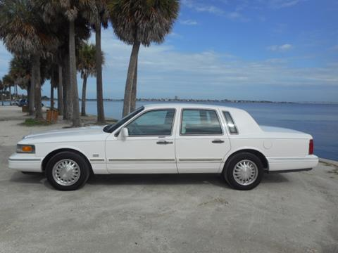 1997 Lincoln Town Car for sale in Sarasota, FL