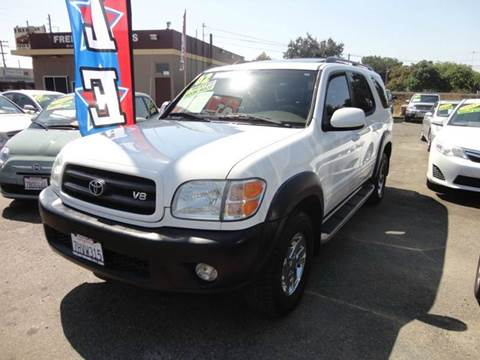 2002 Toyota Sequoia for sale in Modesto, CA