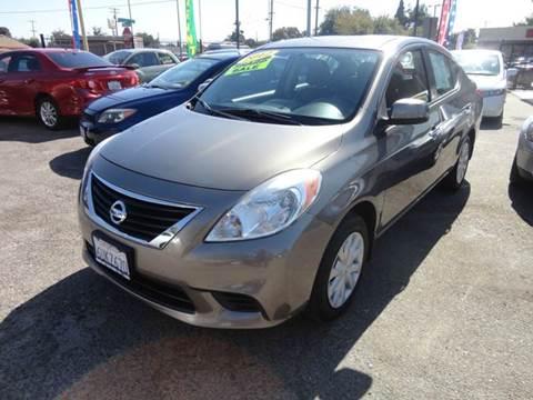 2012 Nissan Versa for sale in Modesto, CA
