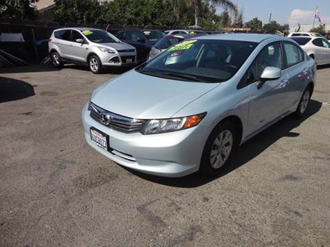 2012 Honda Civic for sale in Modesto, CA