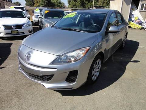2012 Mazda MAZDA3 for sale in Modesto, CA