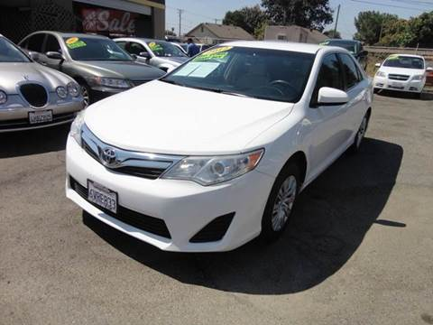 2012 Toyota Camry for sale in Modesto, CA