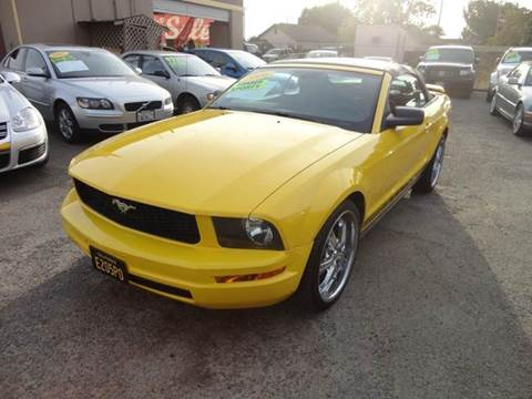 2006 Ford Mustang for sale in Modesto, CA