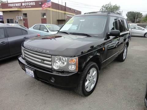 2003 Land Rover Range Rover for sale in Modesto, CA