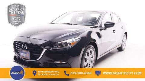 2017 Mazda MAZDA3 for sale in El Cajon, CA
