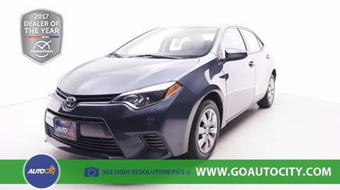2016 Toyota Corolla for sale in El Cajon, CA